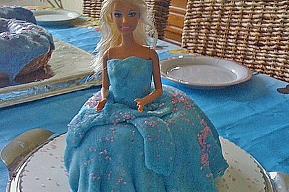 Barbie-Torte 260