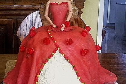 Barbie-Torte 22