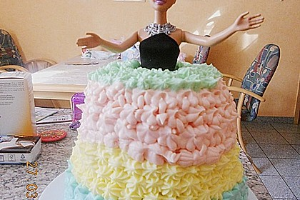 Barbie-Torte 281