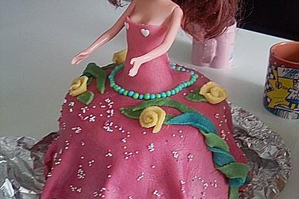 Barbie-Torte 158