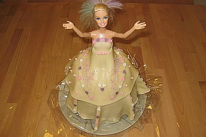 Barbie-Torte 150