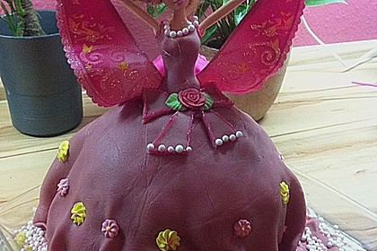 Barbie-Torte 74
