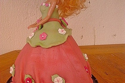 Barbie-Torte 160