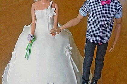 Barbie-Torte 30