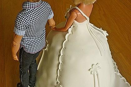 Barbie-Torte 17