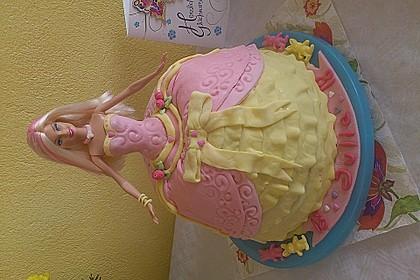 Barbie-Torte 33