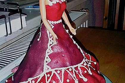 Barbie-Torte 86