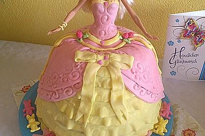 Barbie-Torte 9