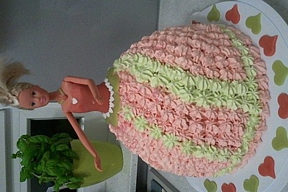 Barbie-Torte 75