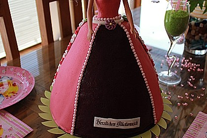 Barbie-Torte 35