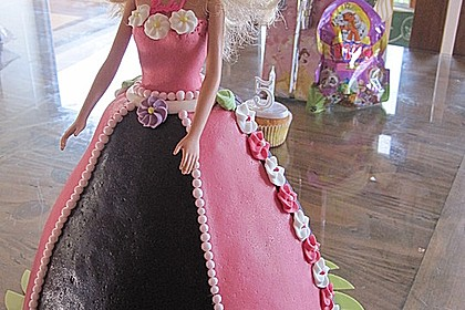 Barbie-Torte 48