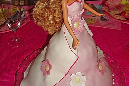 Barbie-Torte 66