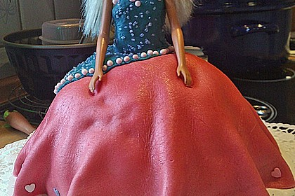 Barbie-Torte 126