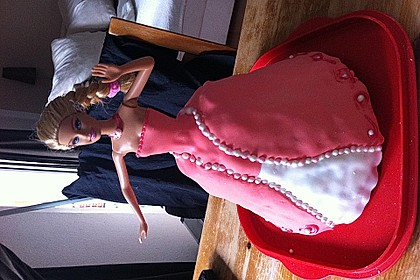 Barbie-Torte 138