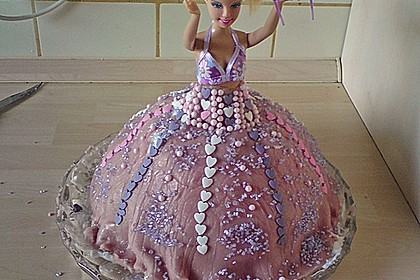 Barbie-Torte 156