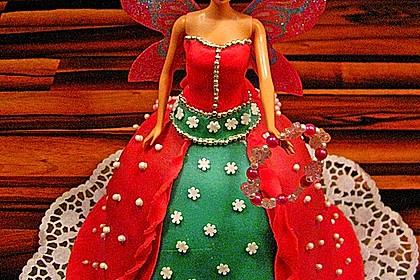 Barbie-Torte 4