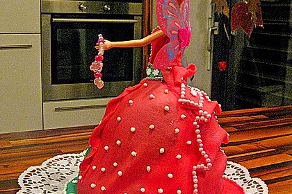 Barbie-Torte 139