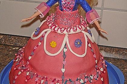 Barbie-Torte 351