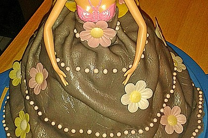Barbie-Torte 237