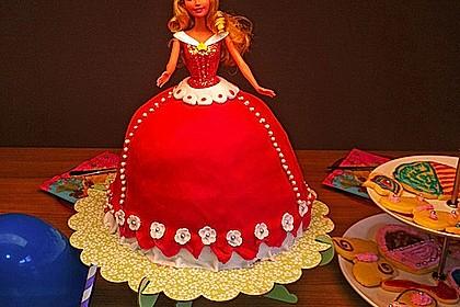 Barbie-Torte 20