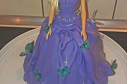 Barbie-Torte 34