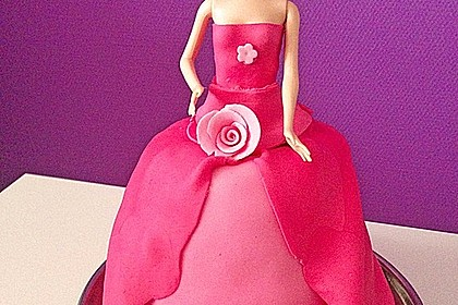 Barbie-Torte 77