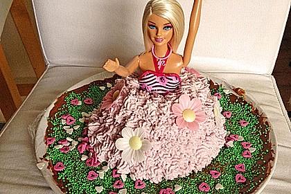 Barbie-Torte 350