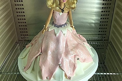 Barbie-Torte 96