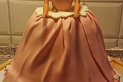 Barbie-Torte 45