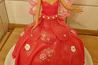 Barbie-Torte 8
