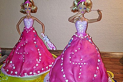 Barbie-Torte 39