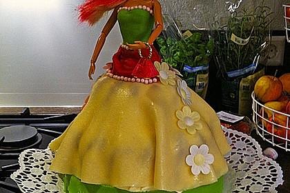 Barbie-Torte 104