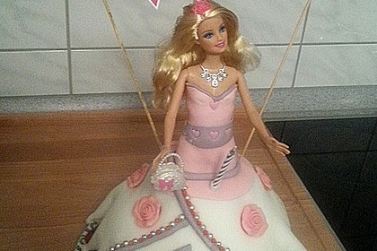 Barbie-Torte 62