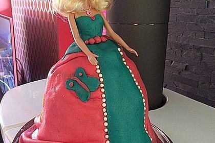 Barbie-Torte 207
