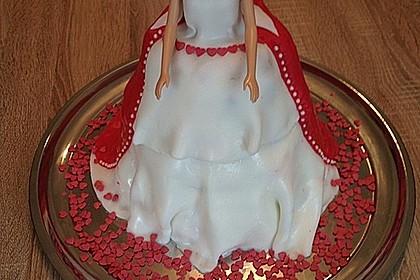 Barbie-Torte 60