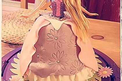 Barbie-Torte 1