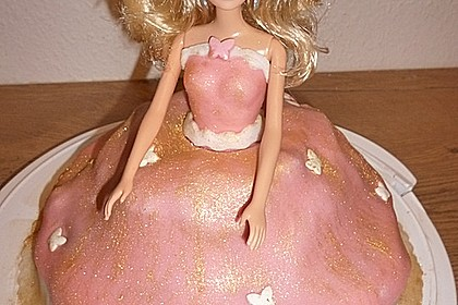 Barbie-Torte 215