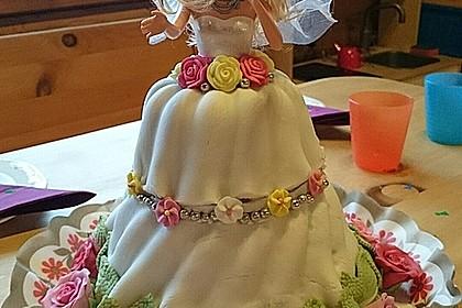 Barbie-Torte 28