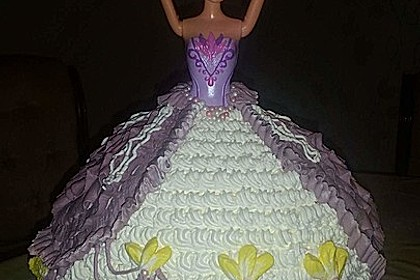 Barbie-Torte 16