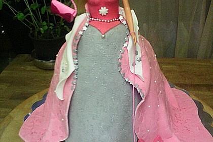 Barbie-Torte 70