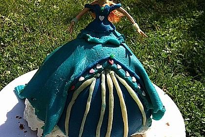 Barbie-Torte 345
