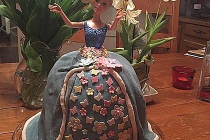 Barbie-Torte 165