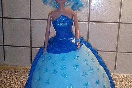 Barbie-Torte 198