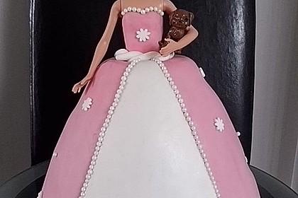 Barbie-Torte 5