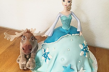 Barbie-Torte 3