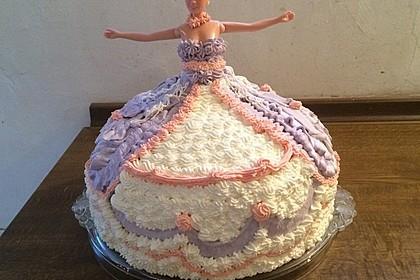 Barbie-Torte 25