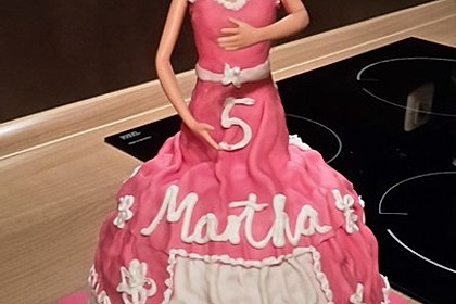 Barbie-Torte 119
