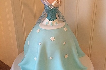 Barbie-Torte 11