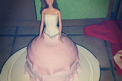 Barbie-Torte 105