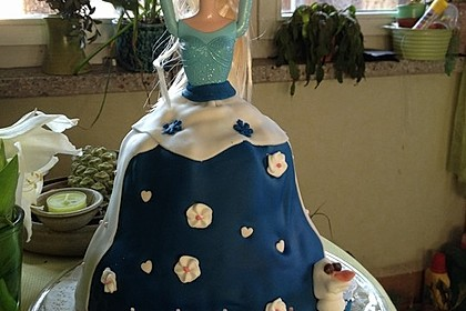 Barbie-Torte 163
